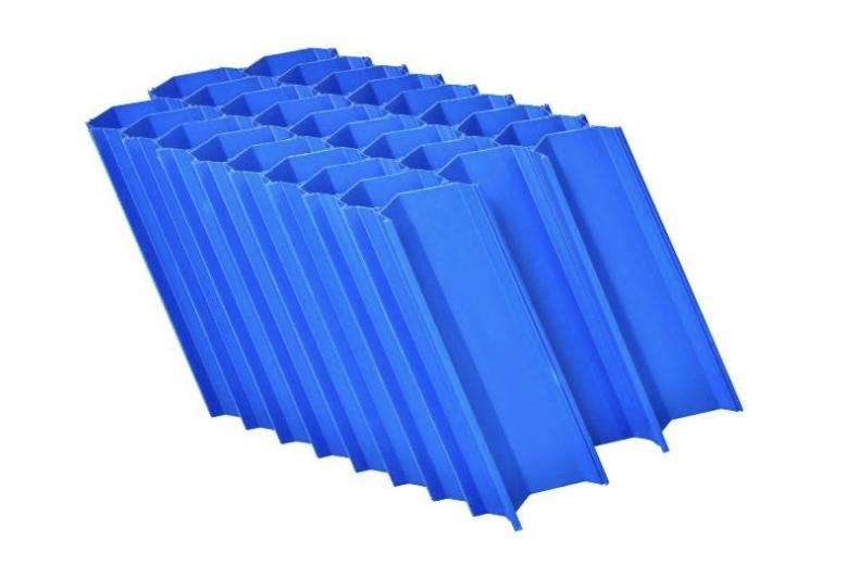 Polypropylene lamella clarifier
